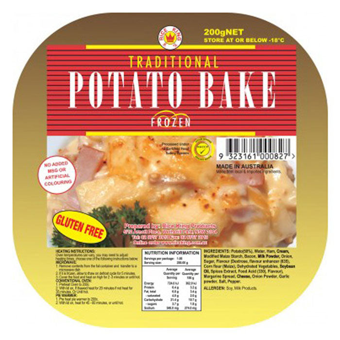 Rice King Potato Bake GF 200g & 2kg