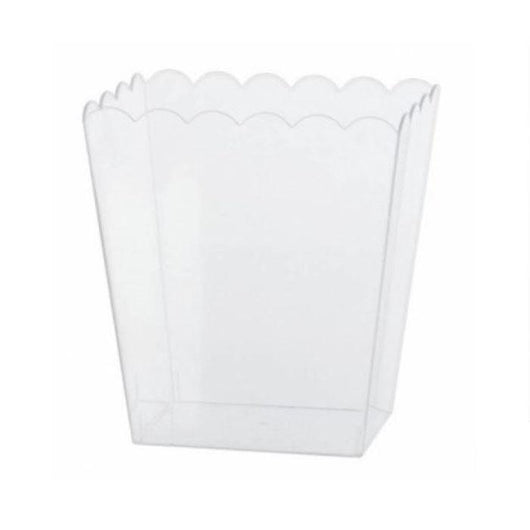 Scalloped Rectangle Container Small