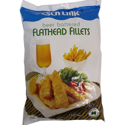 Beer Battered Flathead