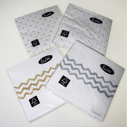 Patterned Lunch Napkins