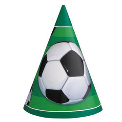 Soccer | Party Hats 8PK