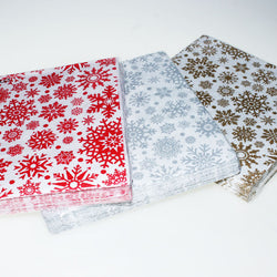 Christmas | Decorative Napkins | Snowflakes