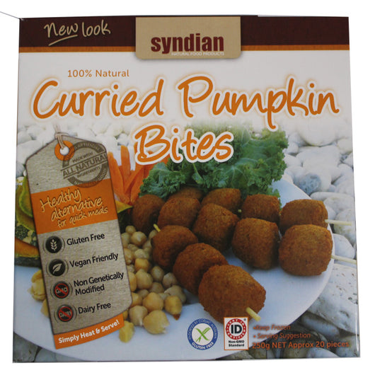 Curried Pumpkin Bites
