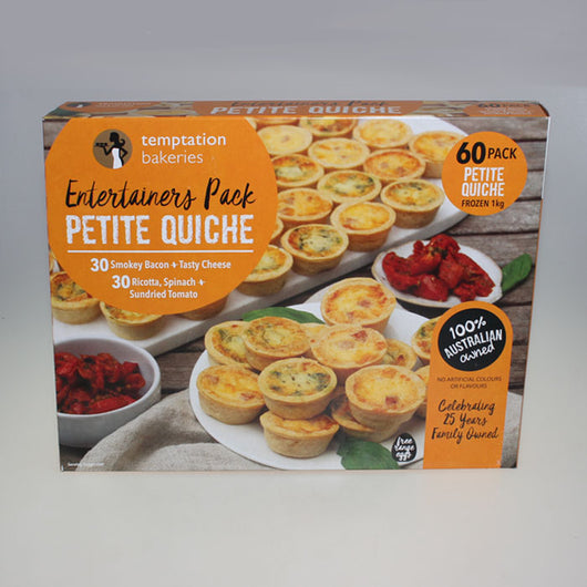 Petite Quiches | Entertainers' Pack of 60