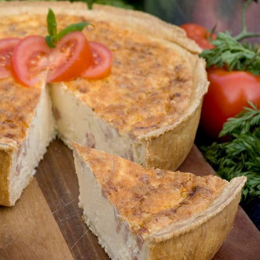 Family Quiche- Vegetable