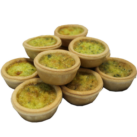 Mini Quiches- Chicken and Mushroom