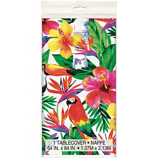 Tropical Patterned Table Cover