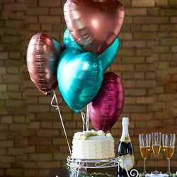 Foil Heart Balloons | Bouquet | Party | Shop Balloons @ The French Kitchen Castle Hill