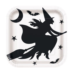 Halloween | Witch Paper Dinner Plate