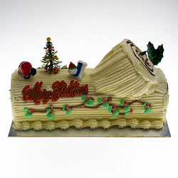 Christmas Logs at The French Kitchen Castle Hill order now