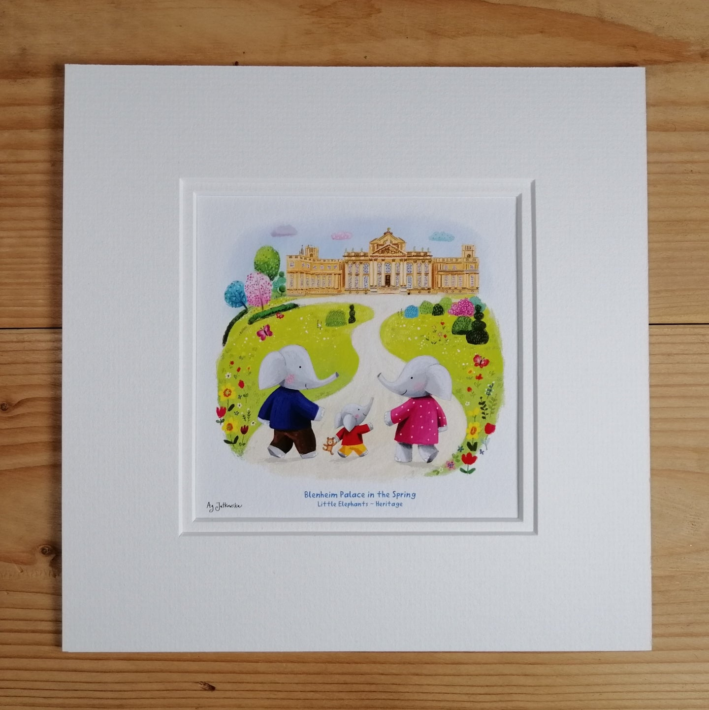 Blenheim Palace in the Spring - Heritage Fine Art Print