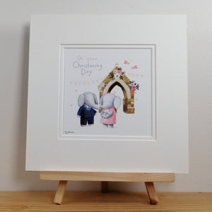 Christening Fine Art Print & Card