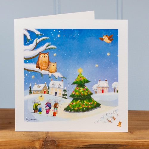 'Christmas Eve' Greetings Card
