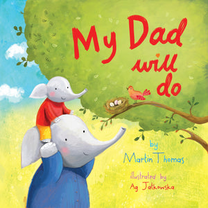 """My Dad Will Do"" Picture Book with Greetings Card and Gift Wrap"