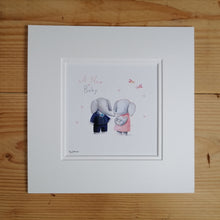 New Baby Fine Art Print & Card
