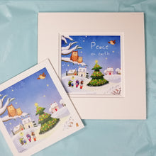 Personalised Christmas Print with Card & Gift Wrap