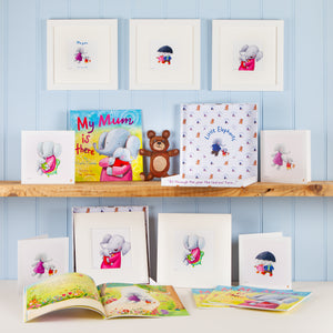 """My Mum is There"" Premium Gift Box with Picture Book, Fine Art Print and Greetings Card"