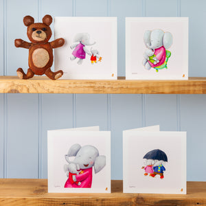 'My Mum is There' Set of Four Greetings Cards