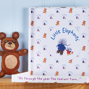 """Little Elephant's Big Year!"" Picture Book with Greetings Card and Gift Wrap"