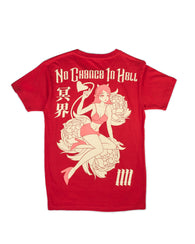 NO CHANCE IN HELL [Cherry Soda] Shirt