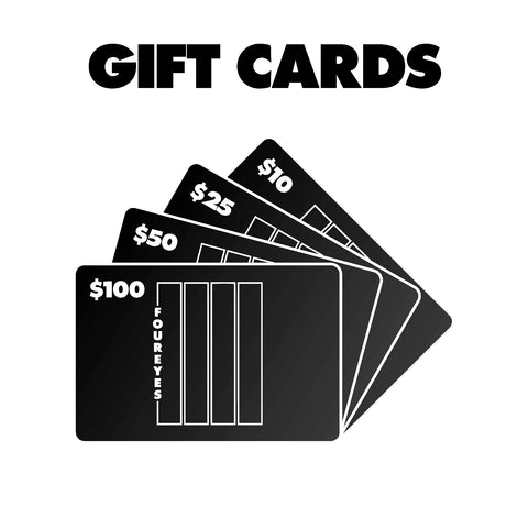 $10/$25/$50/$100 GIFT CARDS