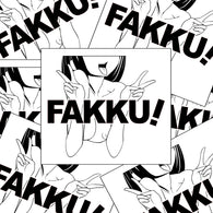 FAKKU X FOUREYES STICKER
