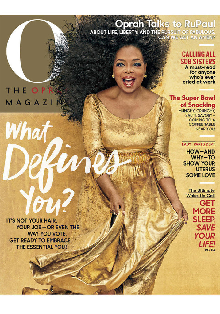 Oprah Uses It's a 10 Miracle Defrizzing Curl Cream in New Issue of O Magazine