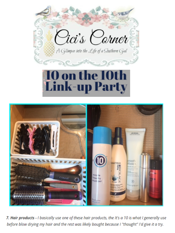 Blogger Cici's Corner Loves It's a 10 Miracle Blowdry Volumizer