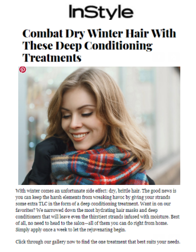It's a 10 Five Minute Hair Repair For Blondes highlighted on InStyle.com