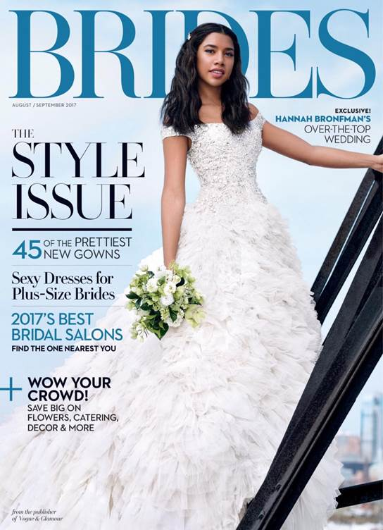 Brides August/September Issue Features It's a 10 Miracle Hair Mask