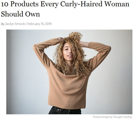 10 products every curly-haired woman should own