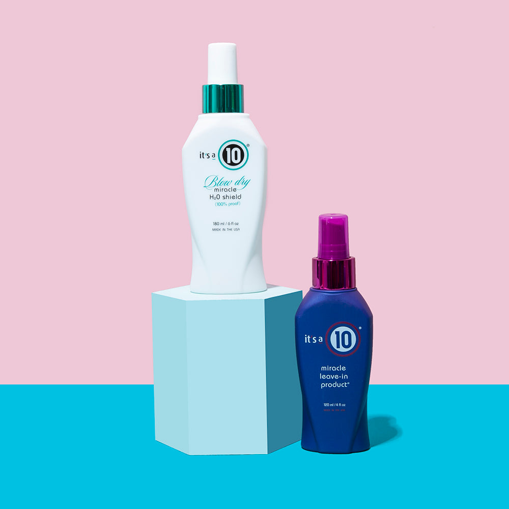 Banish Frizz with Miracle Blow Dry H20 Shield