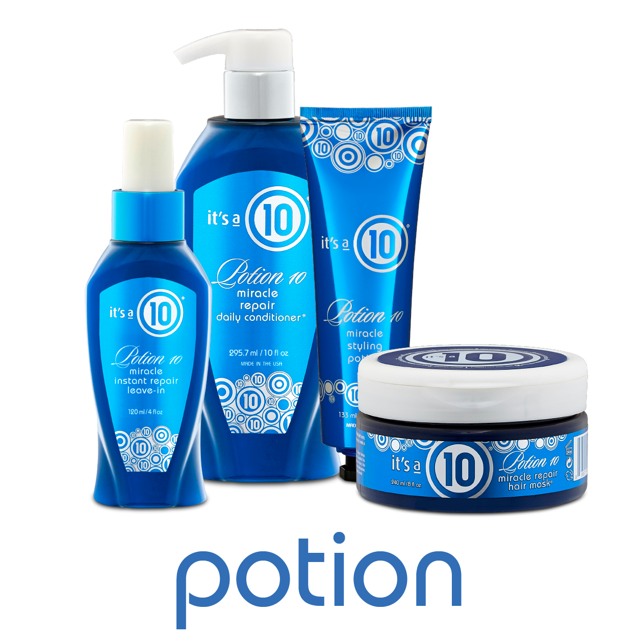 It's a 10 haircare POTION 10 COLLECTION