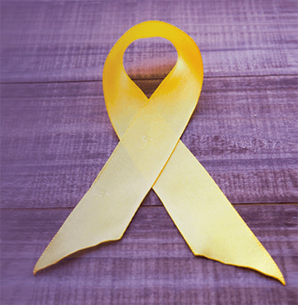 Yellow ribbon for It's a 10 haircare