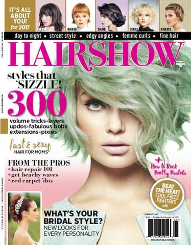 hairshow magazine features it's a 10 miracle whipped conditioner