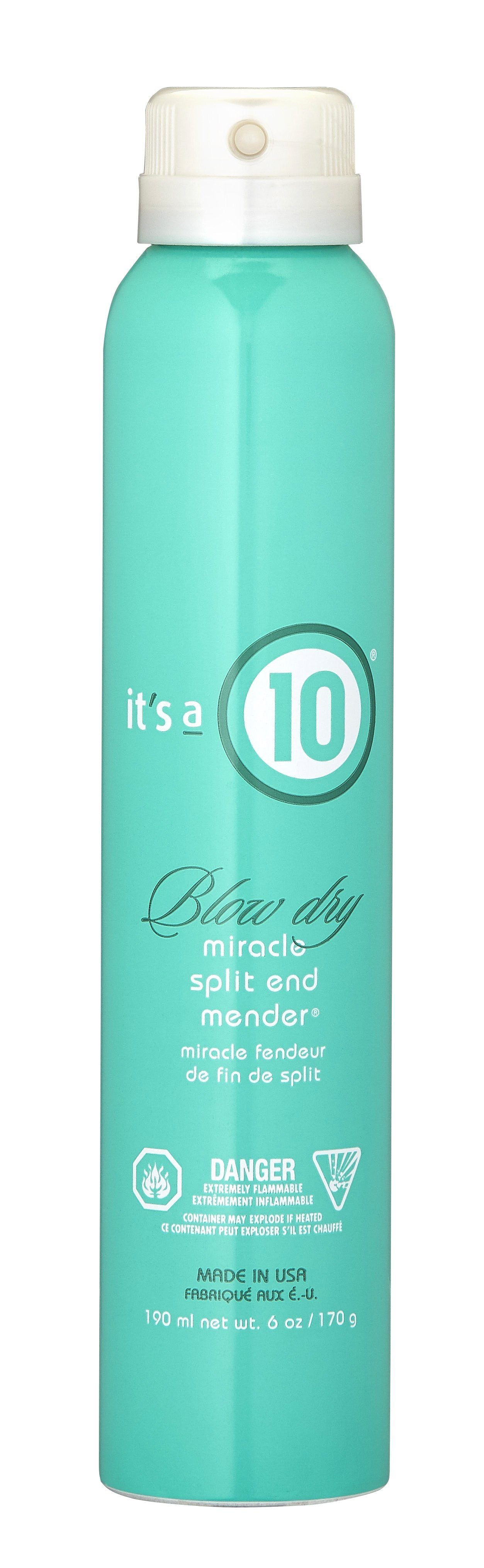 It's a 10 Miracle Blow Dry Split End Mender