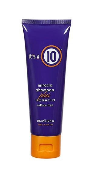 Miracle Shampoo Plus Keratin - 2oz Travel Size