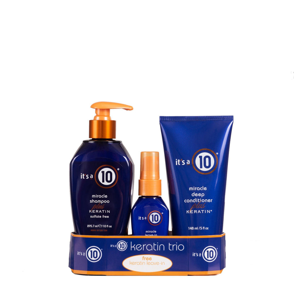 It's a 10 Miracle Keratin Collection Trio