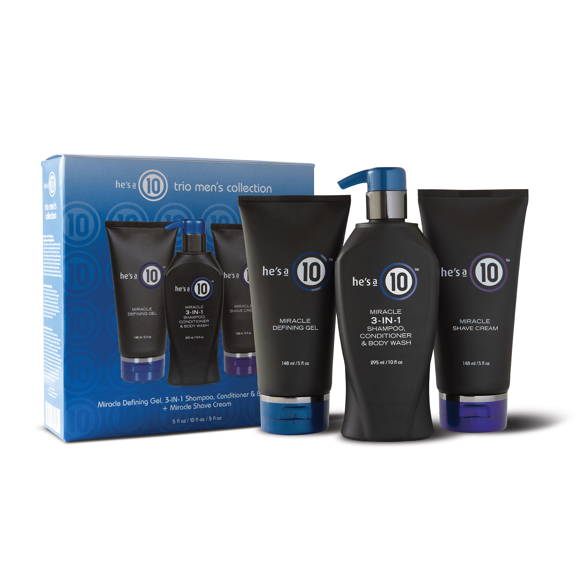 It's a 10 Miracle Men's Collection Gift Set