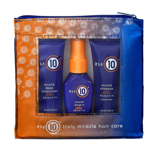 It's a 10 Miracle Keratin Collection Travel Set