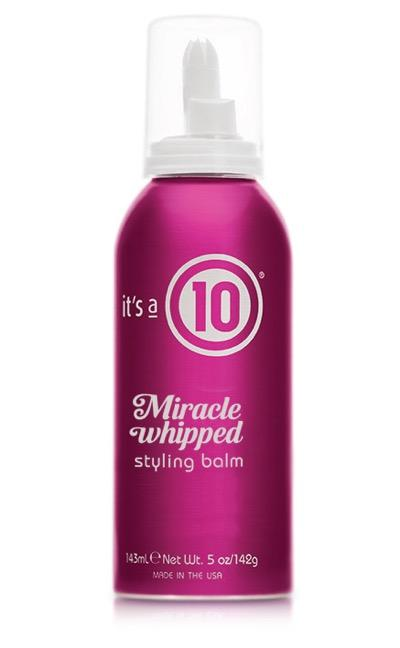 It's a 10 Miracle Whipped Styling Balm