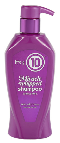 It's a 10 Miracle Whipped Daily Shampoo