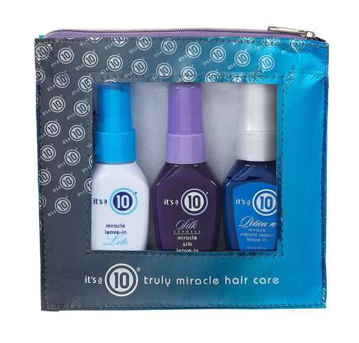 It's a 10 Miracle Leave-in Collection Travel Set