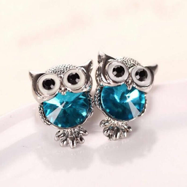 Crystal Owl Earrings *LIMITED SUPPLY*