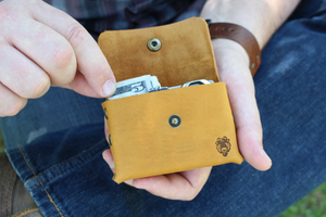 Growley Leather Handmade Every Day Carry Leather Wallet