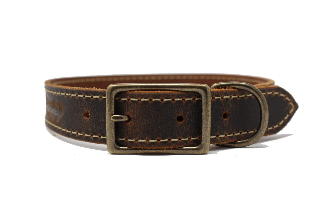 Griff Leather Dog Collar