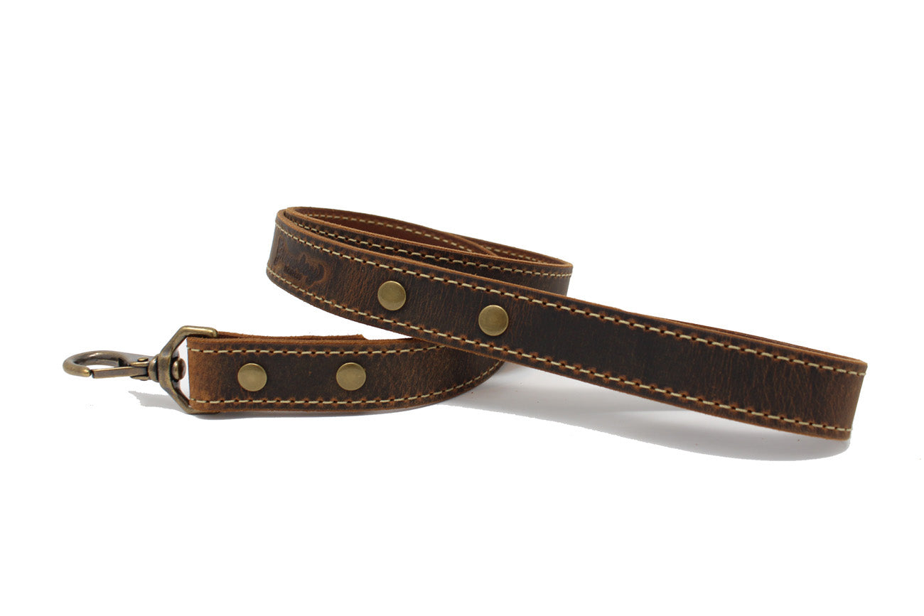 Griff Leather Dog Leash