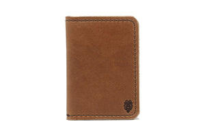 Bison Bifold Wallet - Whiskey