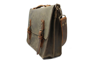 Sullivan Messenger Bag - Slate