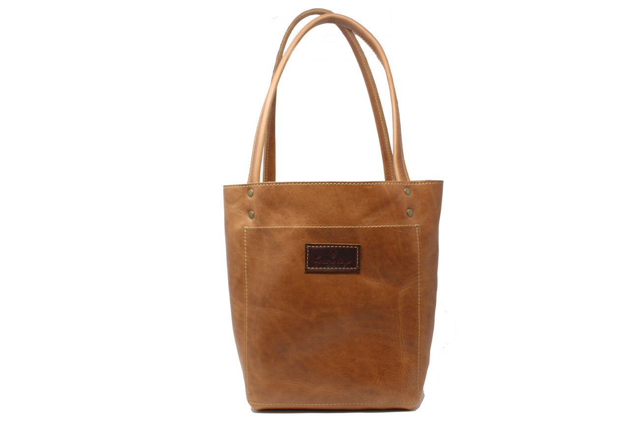 Saffy Tote - Whiskey